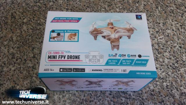 Scatola nano drone