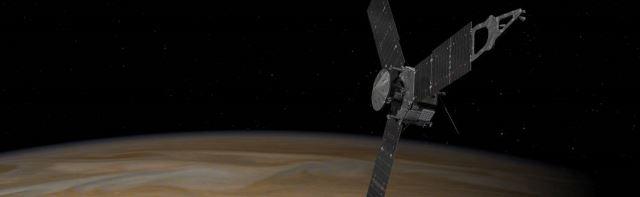 Sonda spaziale juno orbita di Giove