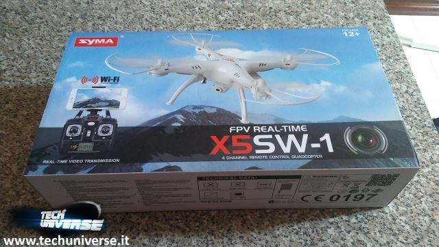 Syma X5SW scatola facciata anteriore