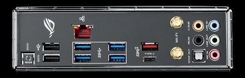 ASUS ROG STRIX X299-E Gaming pannello posteriore scheda madre