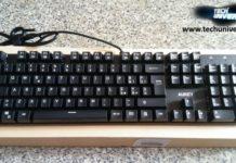 AUKEY tastiera meccanica 105 tasti anti-ghosting