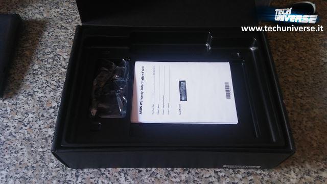 Caricabatterie e garanzia Notebook reversibile Asus Book