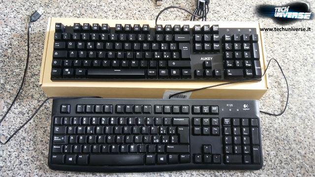 Dimensioni tastiera meccanica AUKEY