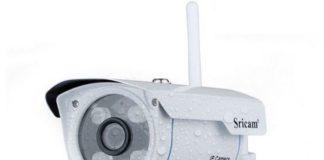 LESHP telecamera videosorveglianza esterno Wi-Fi