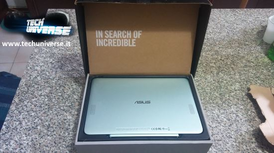 Asus notebook convertibile scatola e unboxing