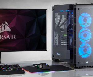 Corsair Crystal Series 570X RGB case PC da gaming pannelli trasparenti in vetro temperato
