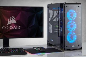 Corsair Crystal Series 570X RGB case PC da gaming pannelli trasparenti in vetro temperato