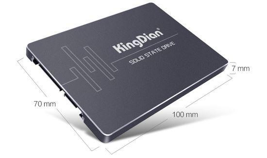 SSD KingDian dimensioni e misure