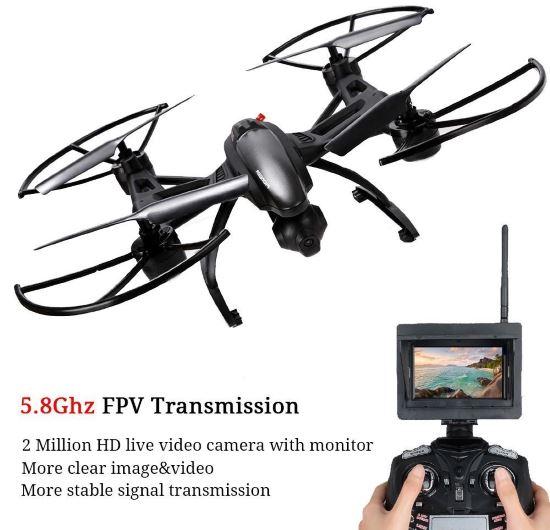 Estetica drone GoolRC jxd 509w e controller
