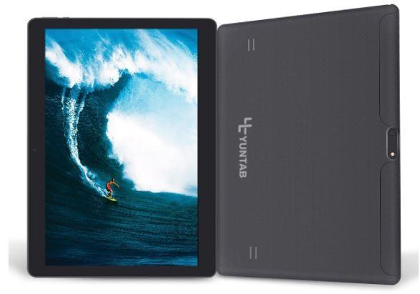 Fronte e retro tablet e prestazioni