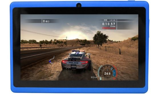 Giochi installati e utilizzabili su tablet Yuntab
