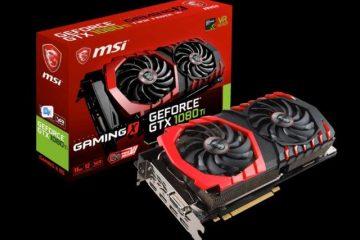 Migliore scheda video: La MSI GTX 1080 Ti Gaming X