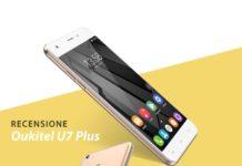 Recensione smartphone economico Oukite U7 Plus