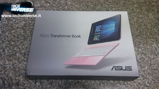 Scatola e unboxing Asus notebook convertibile