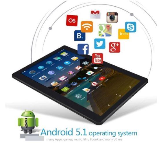 Tablet sistema operativo Android 5.1