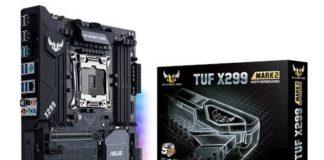 Recensione scheda madre ASUS TUF X299 MARK 2