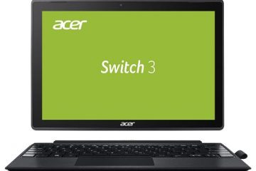 Notebook convertibile Acer Switch 3 SW312