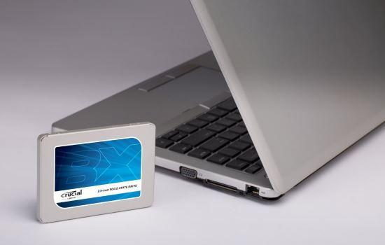 Crucial BX300 SSD per PC e portatili