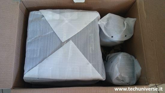 Imballaggio altoparlanti 2.1 bluetooth