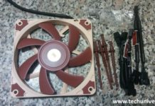 Noctua ventola 120mm e accessori