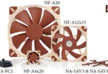 Nuova serie di accessori PC e ventole PC della Noctua