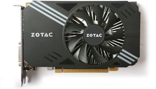 ZOTAC GeForce GTX 1060 3GB Mini sistema di raffreddamento