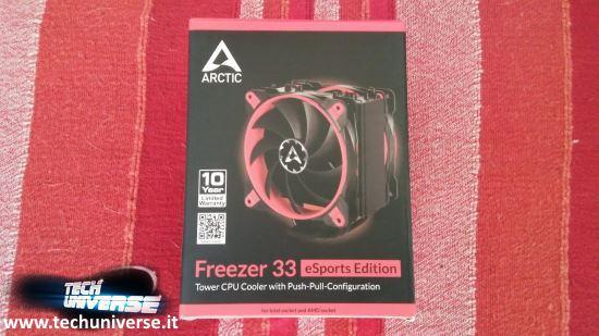ARCTIC Freezer 33 eSports Edition scatola e unboxing