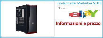 Case PC Coolermaster Masterbox 5 LITE