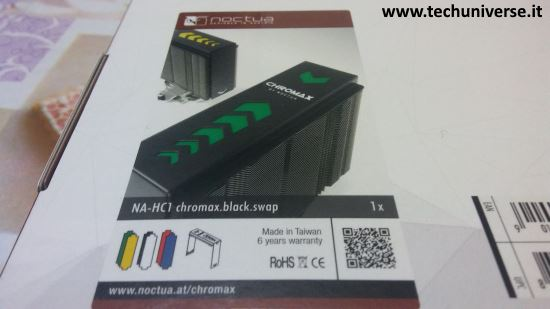 Cover dissipatore Noctua di sei differenti colori