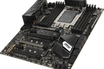 Nuova scheda madre MSI X399 SLI PLUS
