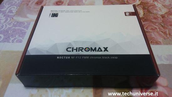 Noctua NF-F12 PWM scatola e unboxing ventole per PC