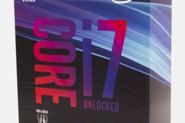 Nuovi processori Coffee Lake: Processore i7-8700K
