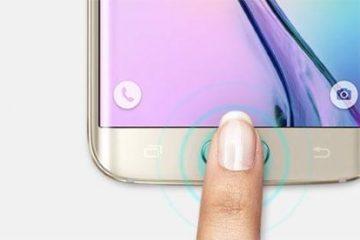 Scanner di impronte digitali smartphone Apple