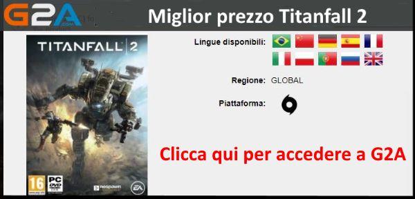 Miglior prezzo Titanfall 2