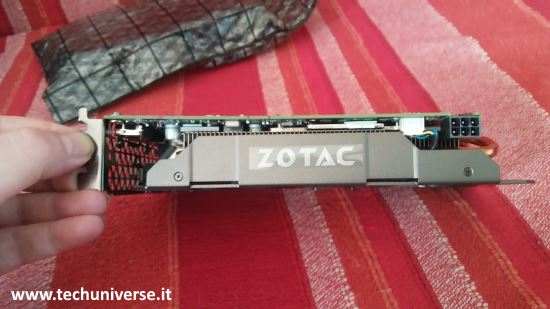 logo Zotac su scheda video GTX 1060