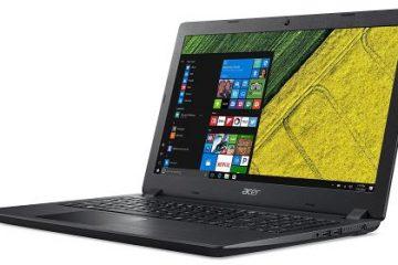 Acer Aspire A315-51-311B Notebook