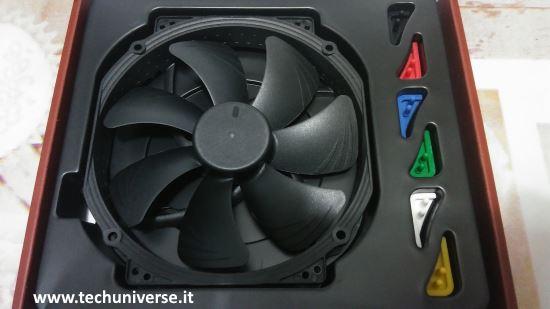 Ventola Noctua NF-A15 HS-PWM chromax.black.swap