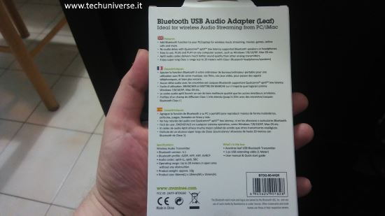 Retro scatola chiavetta USB Bluetooth