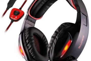 SADES SA902 cuffie gaming offerta Amazon Black Friday