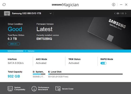 Software Samsung Magician