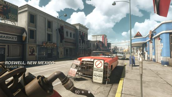 Wolfenstein II: The New Colossus ambientazioni