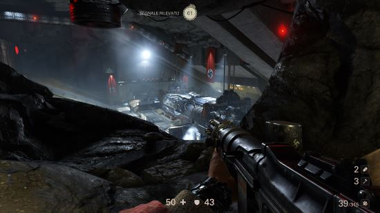 Wolfenstein II: The New Colossus gameplay