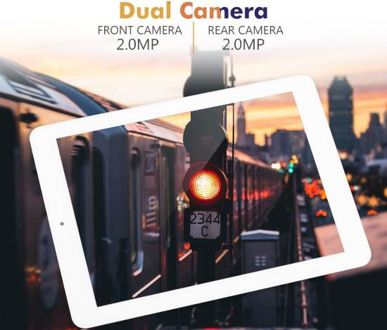 Doppia fotocamera tablet