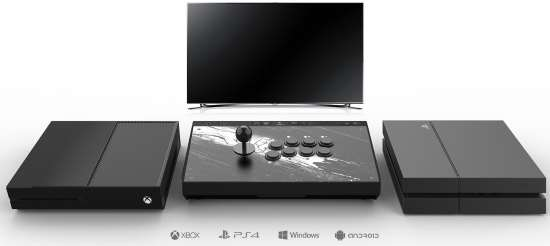Fightstick compatibile PC e console