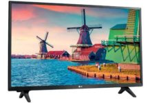 LG 32LJ500U TV 32 pollici