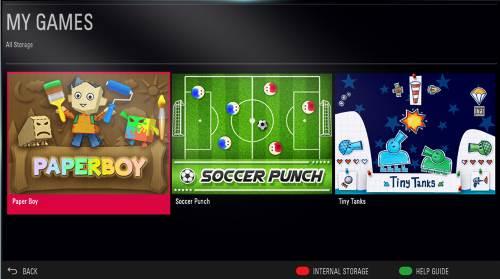 LG 32LJ500U giochi TV 32 pollici