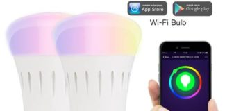Lampade a LED controllabili via App Lohas smart WiFi