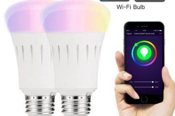 Lampade a LED controllabili via App Lohas smart WiFi