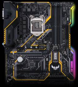 ASUS TUF Z370-PLUS Gaming illuminazione a LED RGB