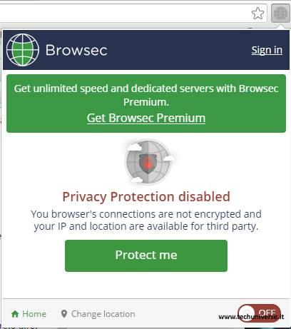 Cambia identità sul web e vedi siti oscurati con Chrome